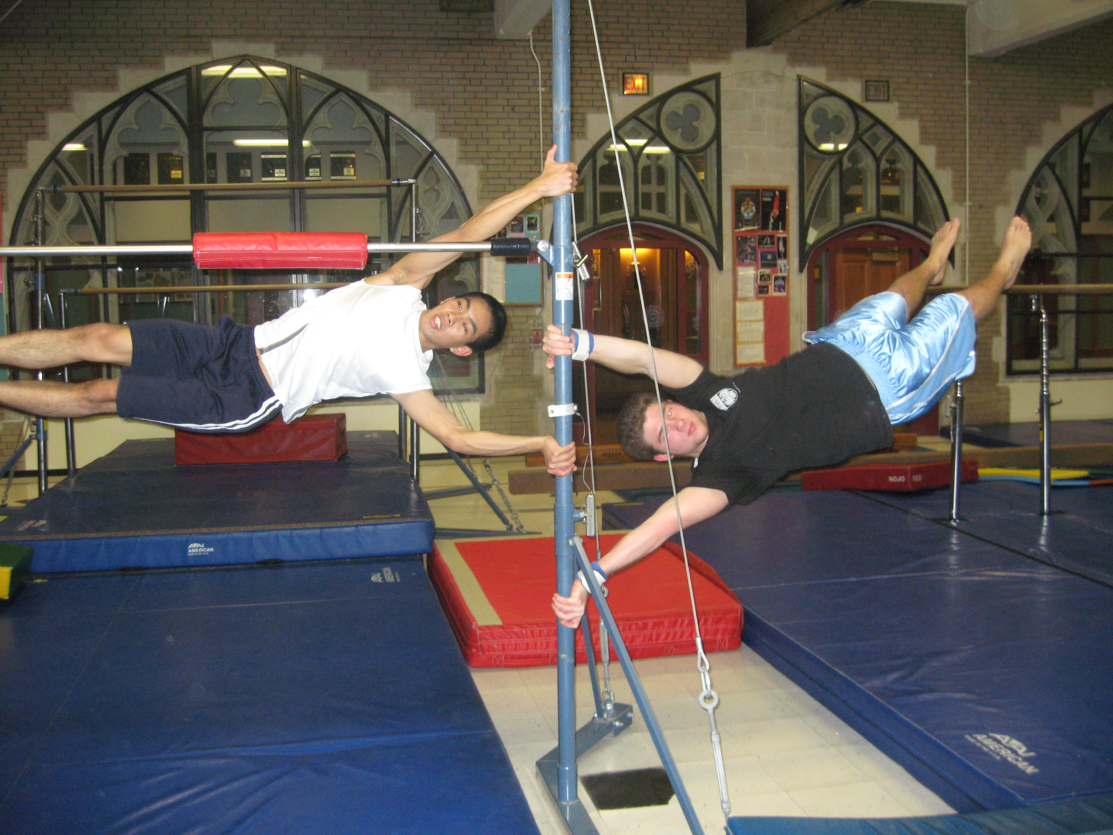 university of chicago gymnastics club